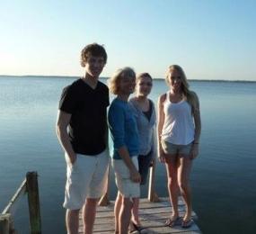 Me & kids at Trinity