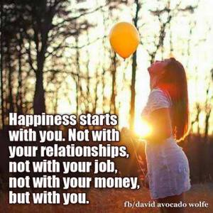 Happy starts with you